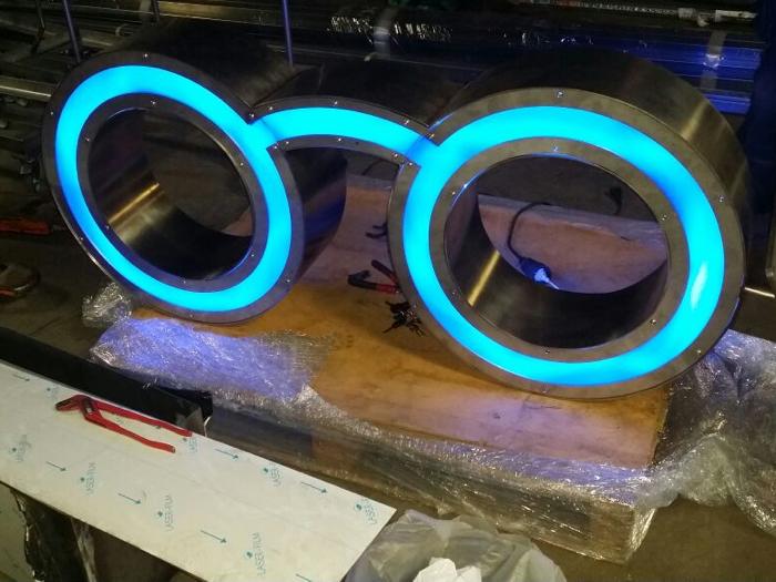 RVS Bril Met LED 1